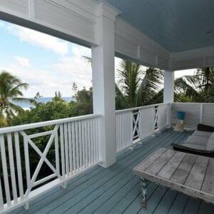 2nd Floor East Porch