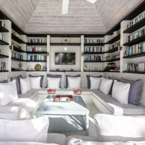 Library Cottage Interior
