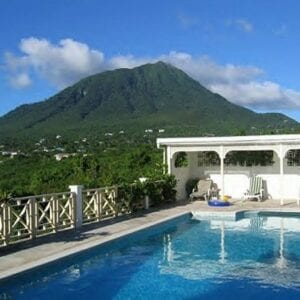 Mount Nevis and Pool