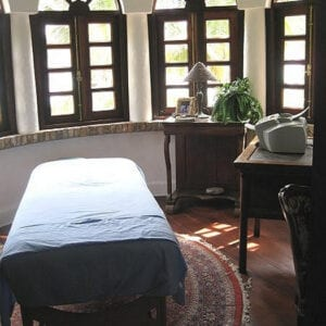 Master Bedroom Massage Table