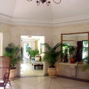 Hexagonal Front Hall